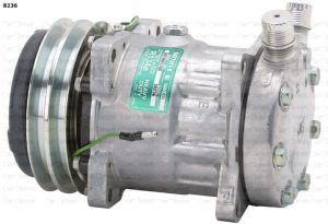 Compressor SANDEN SD7H15/8236 -JCB/NEW HOLLAND OEM 8150136 substitute for: 7866, 8017